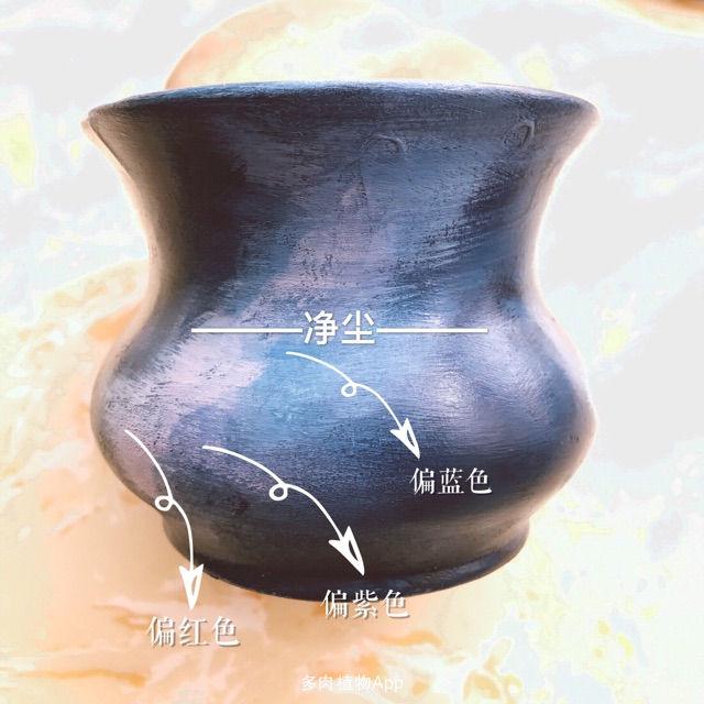 (原创)丙烯|手绘多肉花盆·星空(教程)